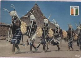 CPM - DANSEUSES De La REGION De BOUDIALI (femmes Aux Seins Nus) - Photo Hoa-Qui - Côte-d'Ivoire