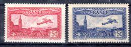 8.6.1930 Und 11.11.1930; Flugpostmarken; Mi-Nr. 251 + 255, Ungebraucht *, Los 50915 - 1927-1959 Mint/hinged