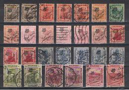 EGITTO:  1922  SOPRASTAMPATI  RIPETUTI  -  LOTTO  27  US. -  YV/TELL. 69//81 - Ägypten