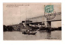 CPA 49 - Catastrophe Des Pont De Cé ( M Et L ) 4 Août 1907 - Une Heure Après L'accident - Autres Communes