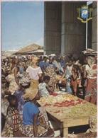 CPM - ABIDJAN - SCENE TY¨PIQUE Du MARCHE De TREICHEVILLE - Photo J.C.Nourault - Côte-d'Ivoire