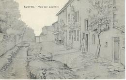 RUETTE : Vue Sur LAUNAIS - TRES RARE CPA ILLUSTRATION - Virton