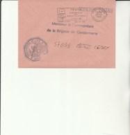 L 3 - Enveloppe  Gendarmerie De L'Air De TOURS COTY - Cachets Militaires A Partir De 1900 (hors Guerres)