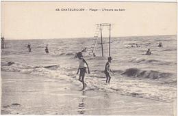 17 - CHATELAILLON-PLAGE - Plage - L'Heure Du Bain - Châtelaillon-Plage