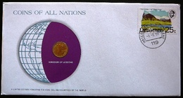 Numisletter Lesotho   Coin UNC 1 Sente  1979 + Stamp 1976 - Lesotho