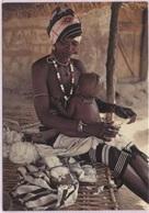 CPM - GAMBIE - PREPARING COTTON (femme Aux Seins Nus) - Photo M.Renaudeau - Gambia