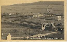 CHENOIS : Vue Panoramique Des Ateliers Du Chemin De Fer - RARE CPA - Virton