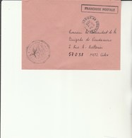 L 3 - Enveloppe  Gendarmerie De L'Air De CONTREXEVILLE - Cachets Militaires A Partir De 1900 (hors Guerres)