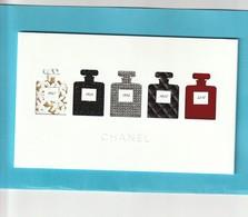CHANEL Superbe Carte De Voeux 2019 - Cartes Parfumées
