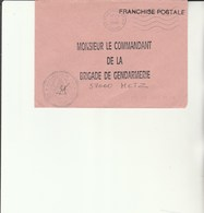 L 3 - Enveloppe  Gendarmerie De L'Air De ORLEANS BRICY - Cachets Militaires A Partir De 1900 (hors Guerres)