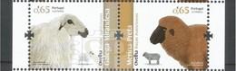 Portugal 2018 Raças Autóctones Touro Vaca Cabra Ovelha - Briefmarken