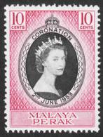 Malaya - Perak - Scott #126 MH (1) - Federation Of Malaya - Perak