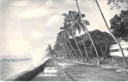 Ex GUINEE FRANCAISE - CONAKRY Le Boulevard Lagunaire - CPA Afrique Noire Black Africa ( Cocotiers Coconut Palm De Coco ) - Guinée Française
