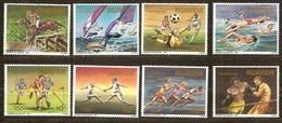 Rwanda Ruanda 1984 OBCn° 1210-1217 *** MNH  Cote 17,00 Euro Sport Los Angeles - Rwanda