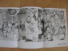 Affiche LOLMEDE Festival BD Aix En Provence 2018 (Milou Burns Un Regard Moderne...) - Affiches & Offsets