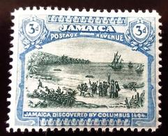1921 Jamaïque  Yt 86 . Mi 81 . Columbus Landing In Jamaica . Neuf Trace Charnière - Jamaïque (...-1961)