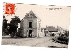 CPA 49 - La Possonnière ( M & L ) Avenue De La Gare - Autres Communes