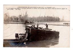 CPA 49 - Catastrophe De Montreuil Bellay 1911 - Le Wagon Sur Lequel 10 Rescapés - Montreuil Bellay
