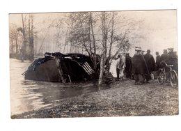CPA 49 - Catastrophe De Montreuil Bellay 1911 - Un Des Wagons - Montreuil Bellay