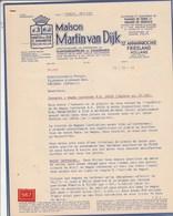 Pays Bas Lettre Illustrée 12/12/1962 Maison Martin Van Dijk Pommes De Terre Graines Semence ST ANNAPAROCHIE Friesland - Pays-Bas