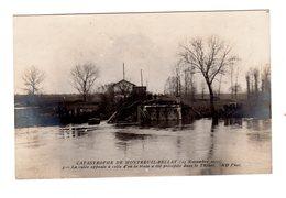 CPA 49 - Catastrophe De Montreuil Bellay 1911 - La Culée Opposée à Celle D'où Le Train - Montreuil Bellay