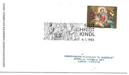 MF128 - MARCOFILIA - CHRISTKINDL - 6.5.1993  - TEMATICA RELIGIONE - 1981-90 Covers