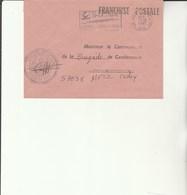 L 3 - Enveloppe  Gendarmerie De L'Air De CREIL - Cachets Militaires A Partir De 1900 (hors Guerres)