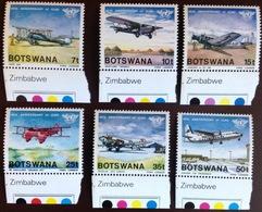 Botswana 1984 CAA Aircraft MNH - Botswana (1966-...)