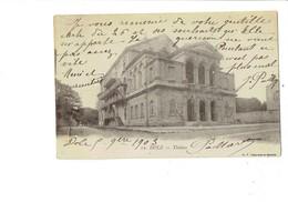 Cpa - 39 - DOLE - Jura - Théâtre - Affiche Spectacle - 1903 - Dole