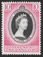 Malaya - Selangor - Scott #101 MH (4) - Federation Of Malaya - Selangor