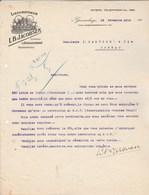 Pays Bas Facture Lettre Illustrée 15/11/1916 L B JACOBSEN Distillateur GRAVENHAGE - Pays-Bas