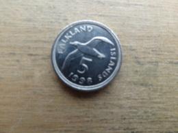 Falkland  5  Pence  1998  Km 4.2 - Falkland Islands