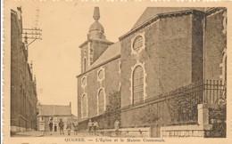 CPA - Belgique - Liège - Ougree - L'Eglise  Et La Maison Communale - Seraing