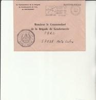 L 3 - Enveloppe  Gendarmerie De L'Air De ROCHEFORT - Cachets Militaires A Partir De 1900 (hors Guerres)