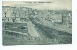 Wenduine - Wenduyne Villas Et Hôtels Sur Boulevard ( Tram ) - Wenduine