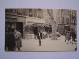 PHOTOGRAPHIE Ancienne : LE CHEVAL BLANC / COURS MIRABEAU / AIX EN PROVENCE 1960 - Lieux