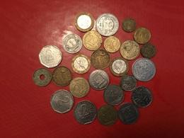 LOT DE 25 Pièces Françaises Voir Le Scan - Monnaies & Billets