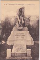 1914 - 1918 - St-AUBIN-JOUXTE-BOULLENG - Le Monument - Monuments Aux Morts
