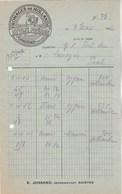 Pays Bas 1/2 Facture Illustrée 7/3/1932 STUIJT Frères Fromages De Hollande Le Cygne PURMERENDE - Pays-Bas