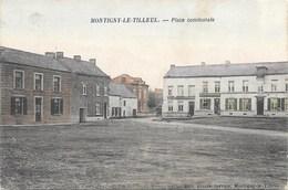 Montigny-le-Tilleul NA14: Place Communale 1907 - Montigny-le-Tilleul