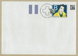 2006 HELVETIA SUISSE ENTIER POSTAL FDC - DISTRIBUTEUR AVEC TRANSPORTEUR - Correo Postal