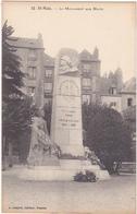 35 - St-Malo - Le Monument Aux Morts - Monuments Aux Morts