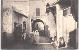 POSTAL   -TUNISIA (TUNEZ)  - RUE ARABE - Túnez