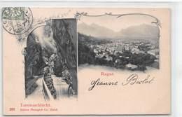 Ragaz Taminaschlucht - SG St. Gallen