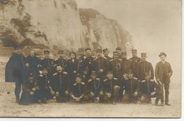Carte-photo - Les Pompiers De MONTESSON En Séminaire à Dieppe En 1917 - Montesson