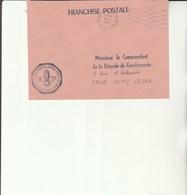 L 3 - Enveloppe  Gendarmerie Des Transports Aériens  De NICE - Cachets Militaires A Partir De 1900 (hors Guerres)