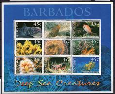 2001 - BARBADOS - Mi. Nr. 998/1006 - NH - (UP.207.39) - Barbados (1966-...)