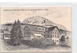 Alpenkurhaus Schönhalden 1494 M ü. M. Mit Guscha - Flums - SG St. Gallen