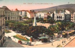 POSTAL   - ORAN -ARGELIA  - LA PLACE D'ARMES - Argelia
