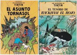 Gf. HERGE. Las Aventuras De TINTIN. 2 Postales - Hergé